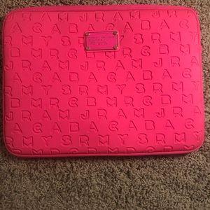 Hot pink laptop case